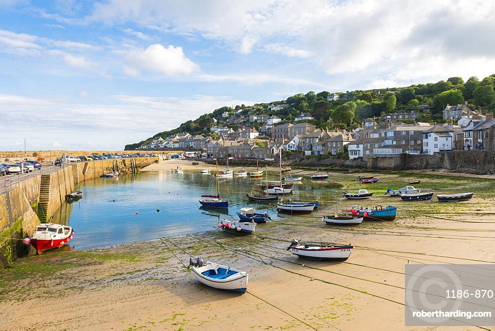 Mousehole harbour, Cornwall, England, United Kingdom, Europe