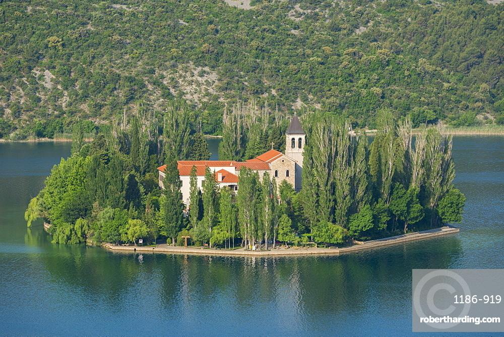 Visovac Monastery, Croatia, Europe