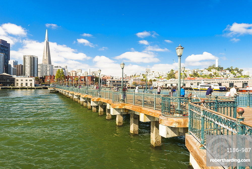 Pier 7, San Francisco, California, United States of America, North America