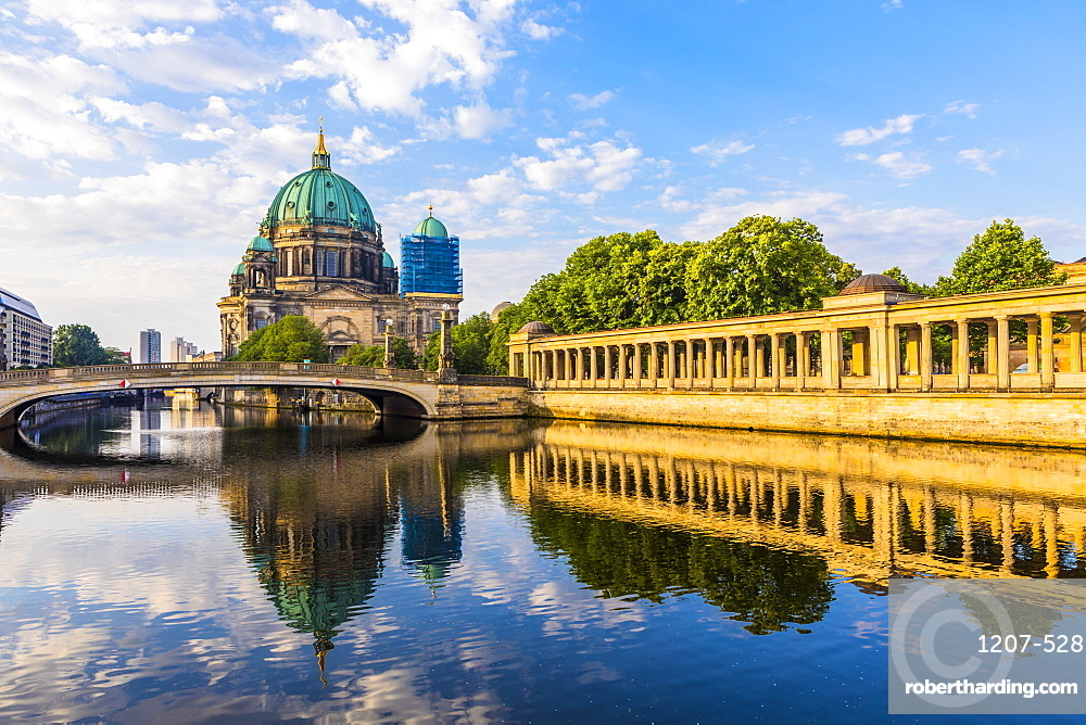 Berlin Cathedral by River Spree in Berlin, Germany, Europe