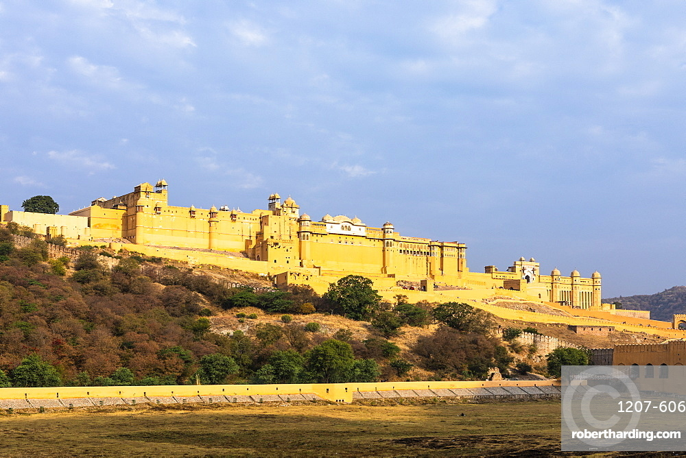Amer (Amber) Palace and Fort, UNESCO World Heritage Site, Amer, Jaipur, Rajasthan, India, Asia