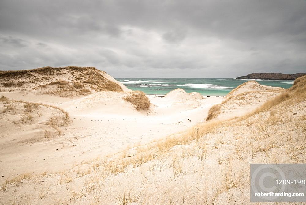 Allathasdal Beach (Seal Bay), Barra, Outer Hebrides, Scotland, United Kingdom, Europe