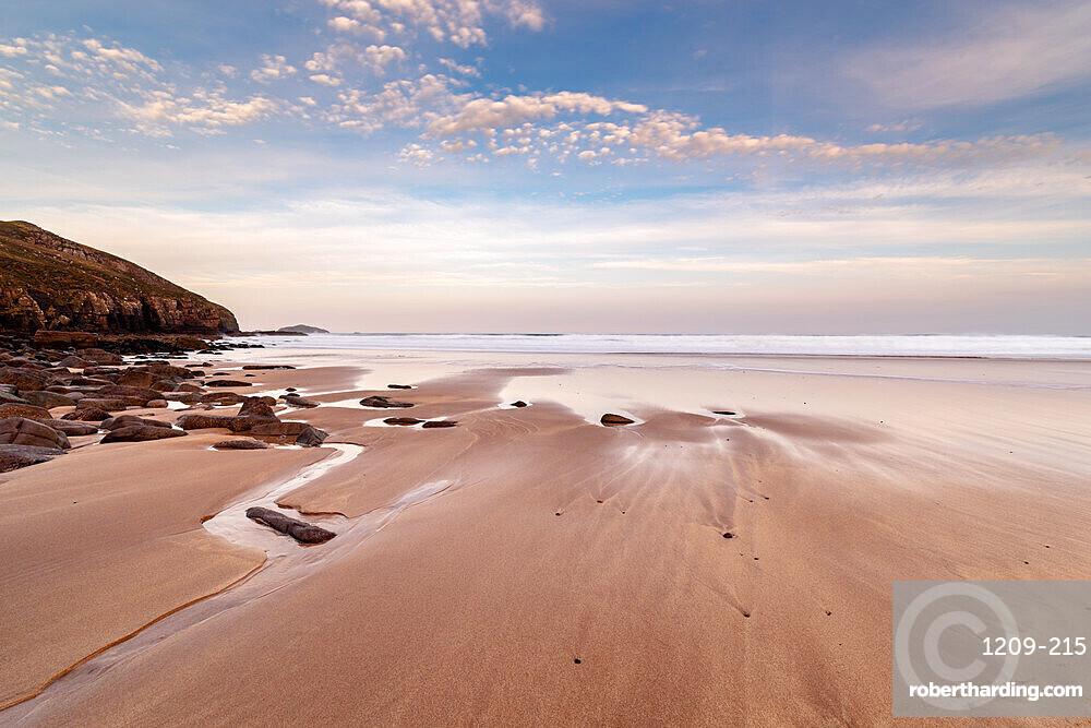Sandwood Bay, Sutherland, Scotland, UK. Early morning.
