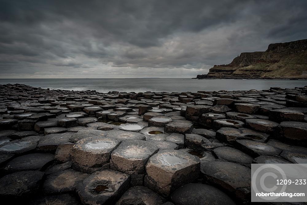 Giant's Causeway, UNESCO World Heritage Site, County Antrim, Northern Ireland, United Kingdom, Europe