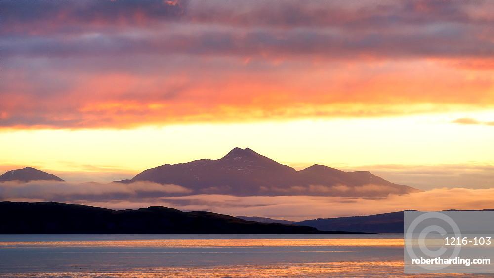 Sunrise in Scotland, United Kingdom, Europe