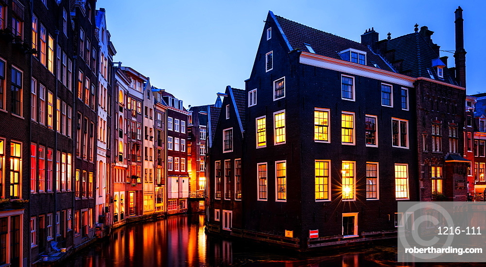 Lights of Amsterdam, The Netherlands, Europe