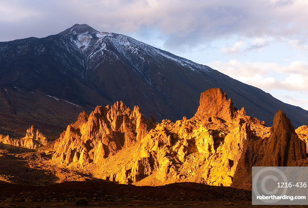 Mount Teide, UNESCO World Heritage Site, Las Canadas National Park, Tenerife, Canary Islands, Spain, Atlantic Ocean, Europe