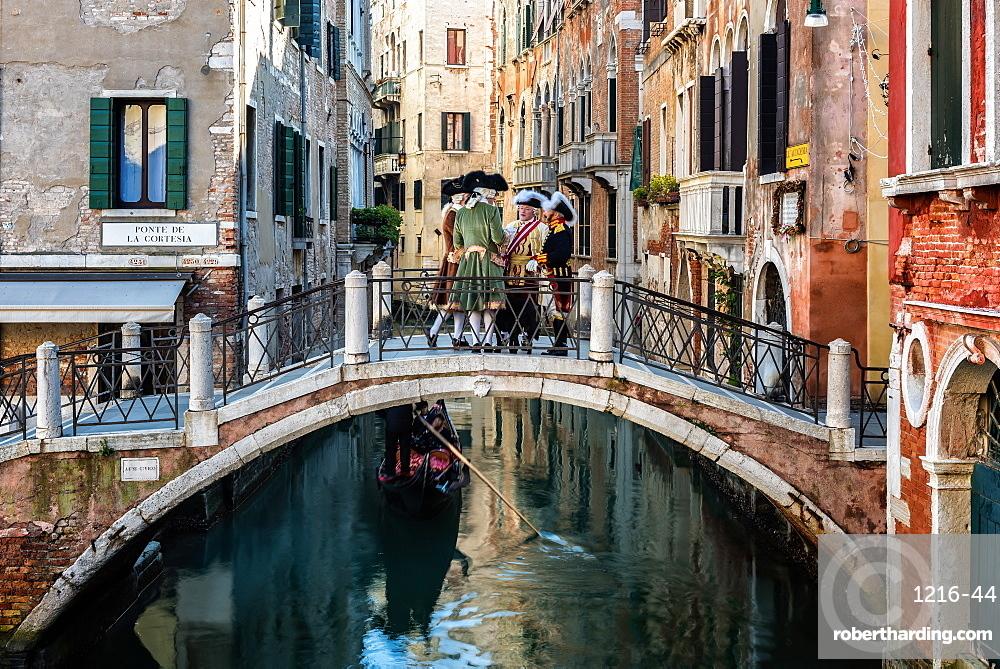The canals of Castello in Venice, UNESCO World Heritage Site, Veneto, Italy, Europe