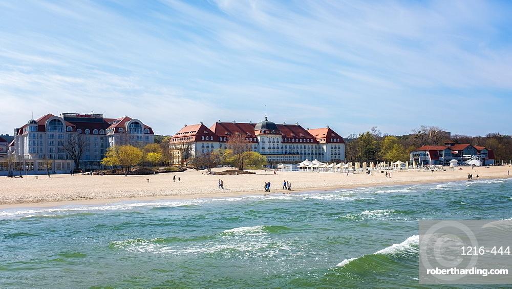 Sopot Beach, Poland, Europe