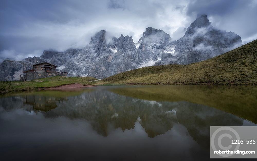 Baita Segantini, Dolomites, Italy, Europe