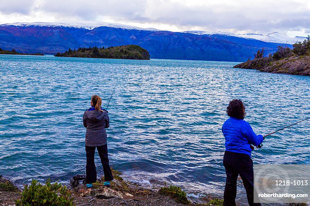 Fishing on Toro Lake