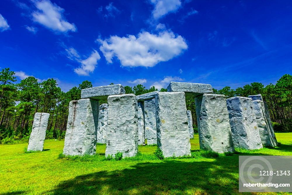 Stonehenge in Alabama, aka Bamahenge.