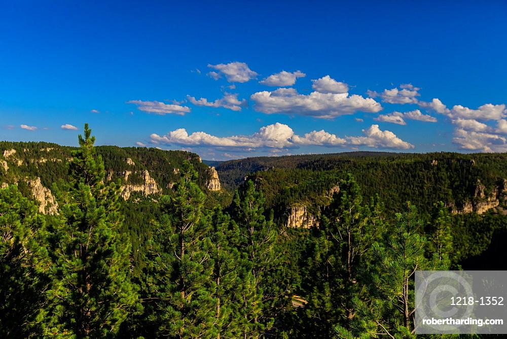 Scenic views in the Blackhills of Keystone, South Dakota, United States of America, North America