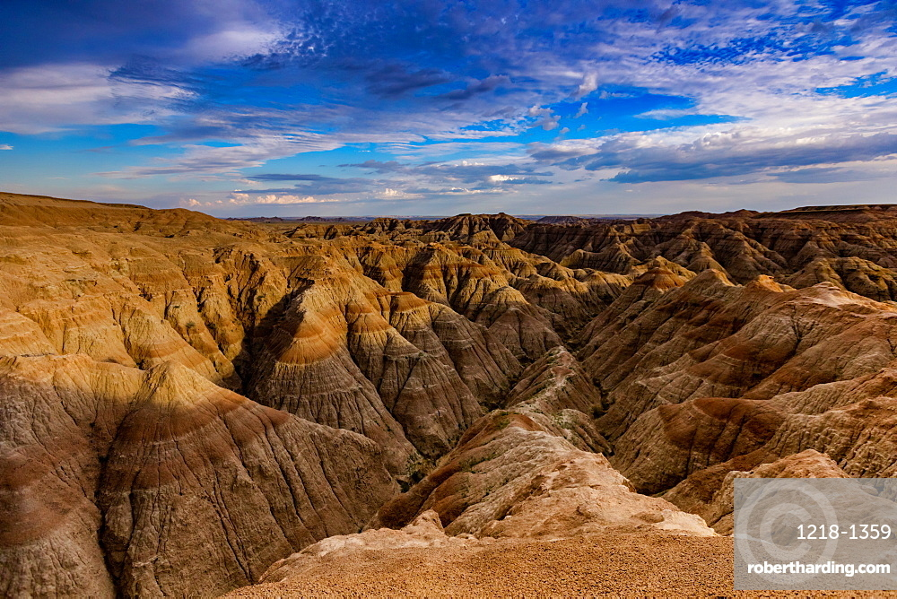 Breathtaking views in the Badlands, South Dakota, United States of America, North America