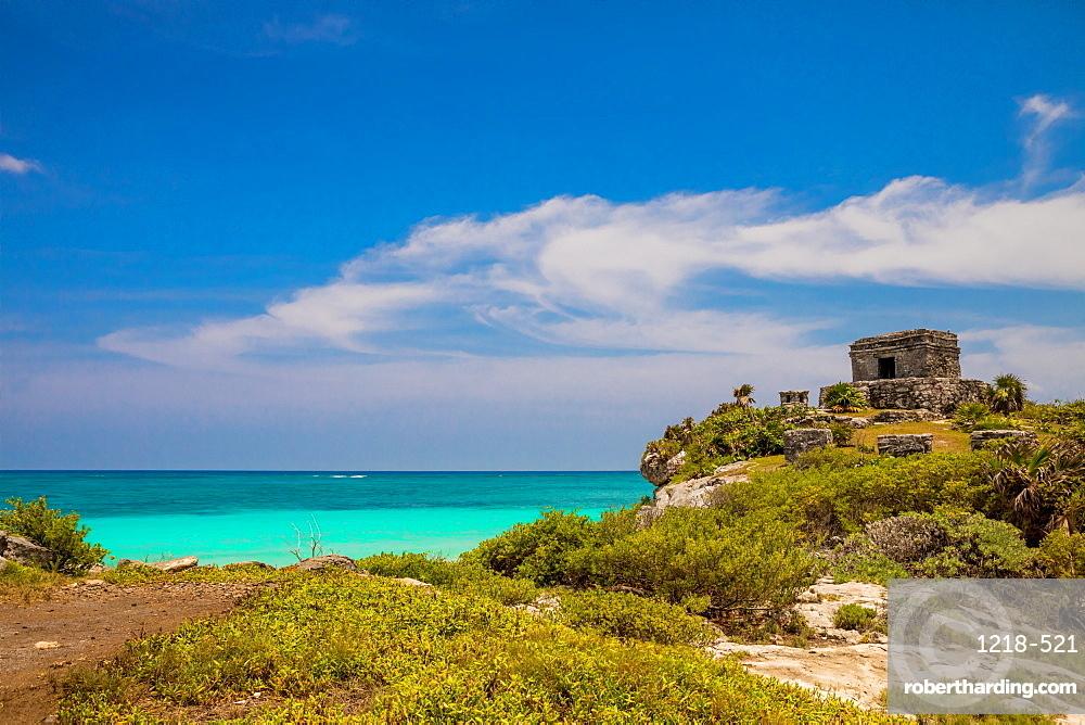 Tulum ruins, Yucatan, Quintana Roo, Mexico, North America