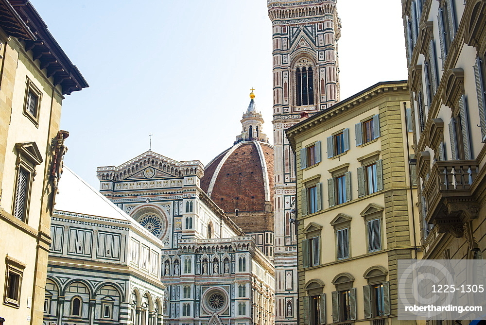 The Duomo (Cathedral) in Florence, UNESCO World Heritage Site, Tuscany, Italy, Europe