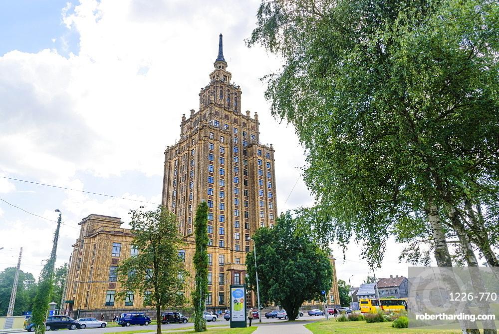 Latvia Academy of Sciences, Riga, Latvia, Europe