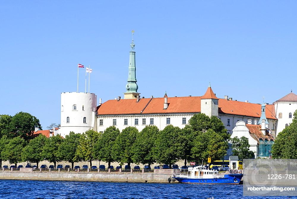 Riga Castle, Riga, Latvia, Europe