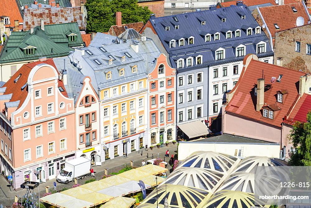 Old Town, UNESCO World Heritage Site, Riga, Latvia, Europe