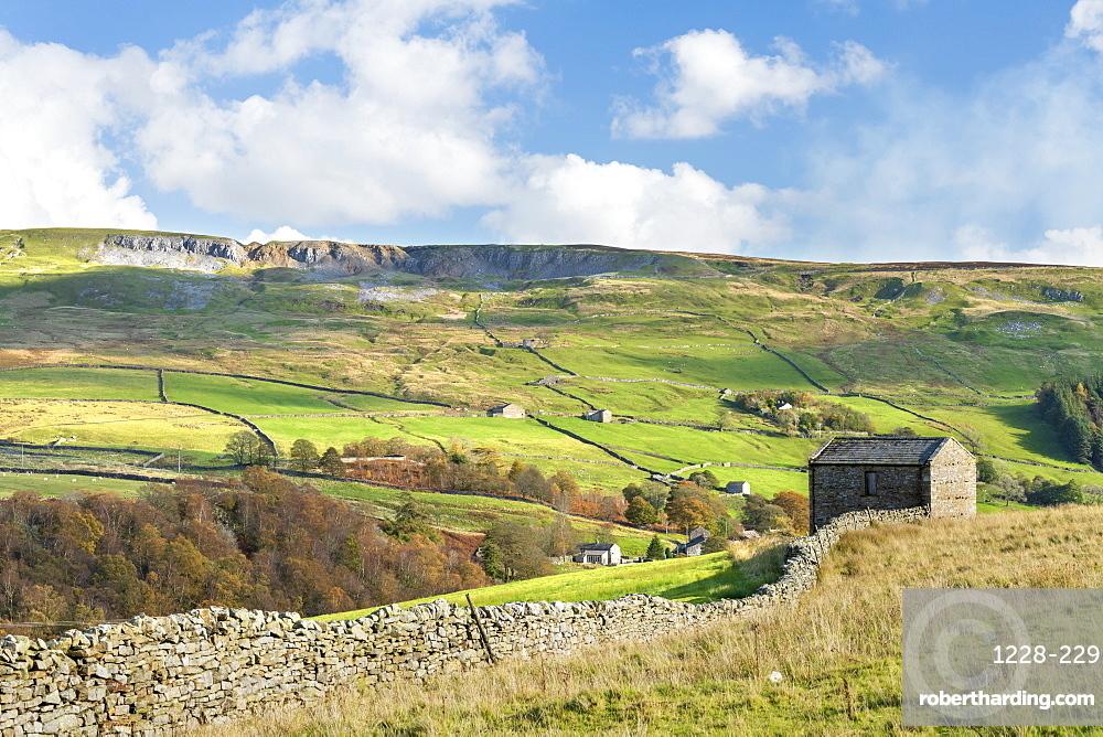 Langthwaite, remote village near Reeth in Arkengarthdale, The Yorkshire Dales, Yorkshire, England, United Kingdom, Europe