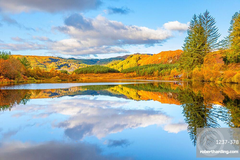 Lochan Reoidhte, Loch Lonond and The Trossachs National Park, Scotland, United Kingdom, Europe