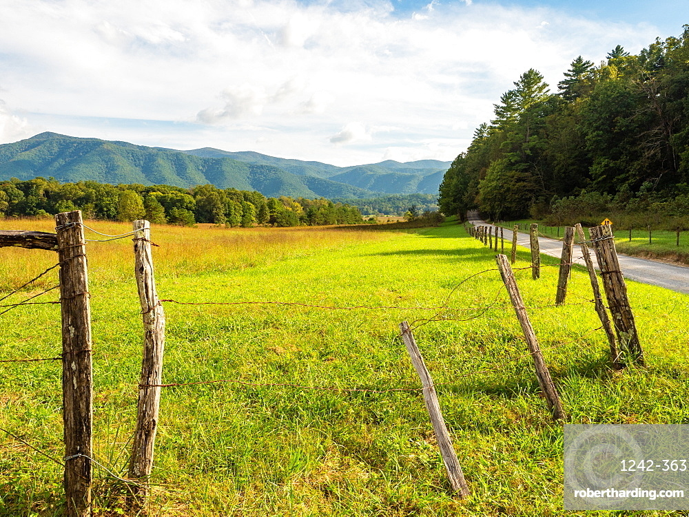 Cades Cove, Great Smoky Mountains National Park, Tennessee, United States