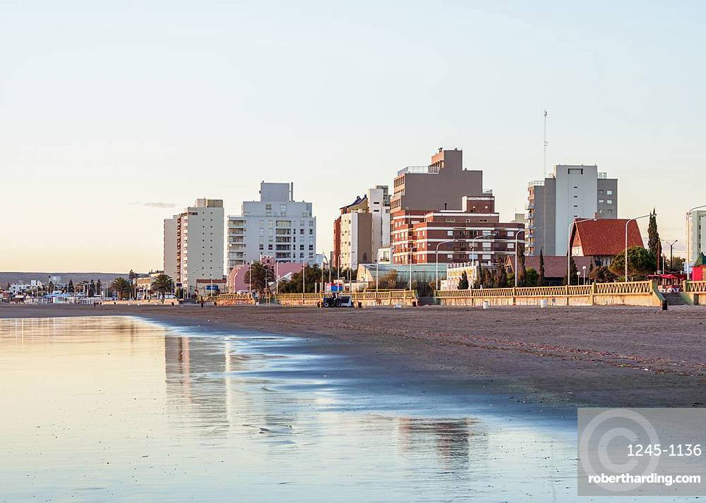 Beach in Puerto Madryn, The Welsh Settlement, Chubut Province, Patagonia, Argentina, South America