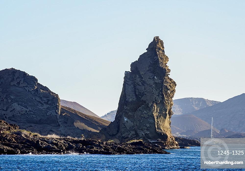 Pinnacle Rock on Bartolome Island, Galapagos, UNESCO World Heritage Site, Ecuador, South America