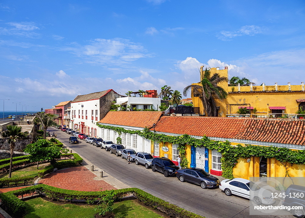 Old Town, Cartagena, Bolivar Department, Colombia, South America