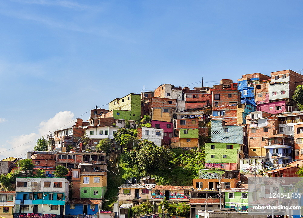 Comuna 13, Medellin, Antioquia Department, Colombia, South America