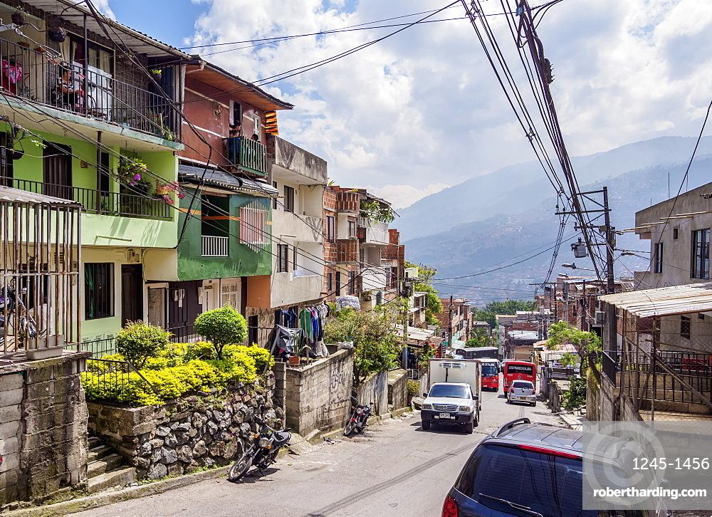 El Barrio Pablo Escobar, Medellin, Antioquia Department, Colombia, South America