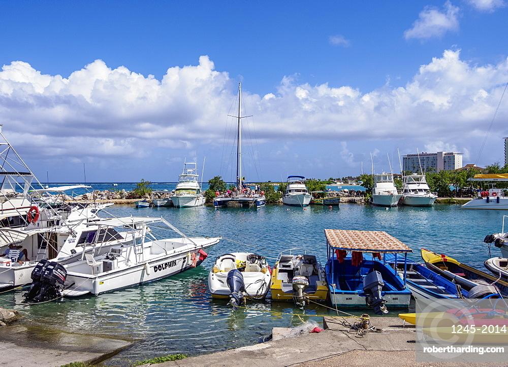 Marina in Ocho Rios, Saint Ann Parish, Jamaica