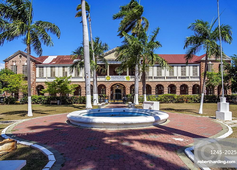 Parish Council Building, former House of Assembly, Main Square, Spanish Town, Saint Catherine Parish, Jamaica
