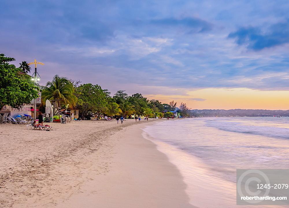 Seven Mile Beach, Long Bay, Negril, Westmoreland Parish, Jamaica