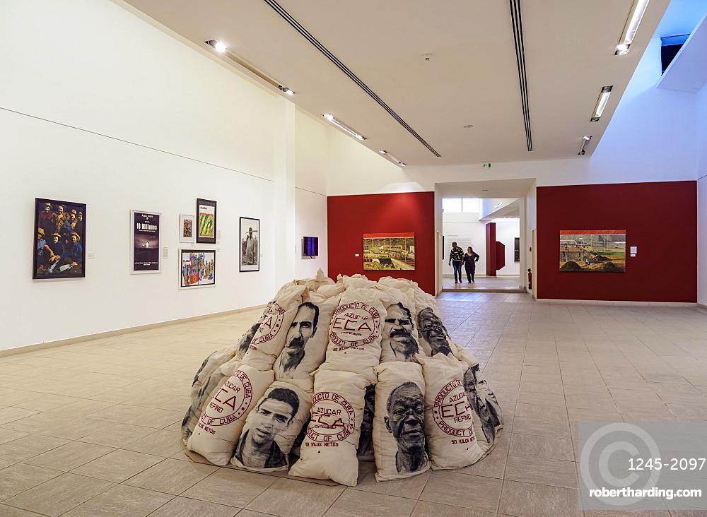 National Museum of Fine Arts, Cuban Art Branch, interior, Havana, La Habana Province, Cuba, West Indies, Central America