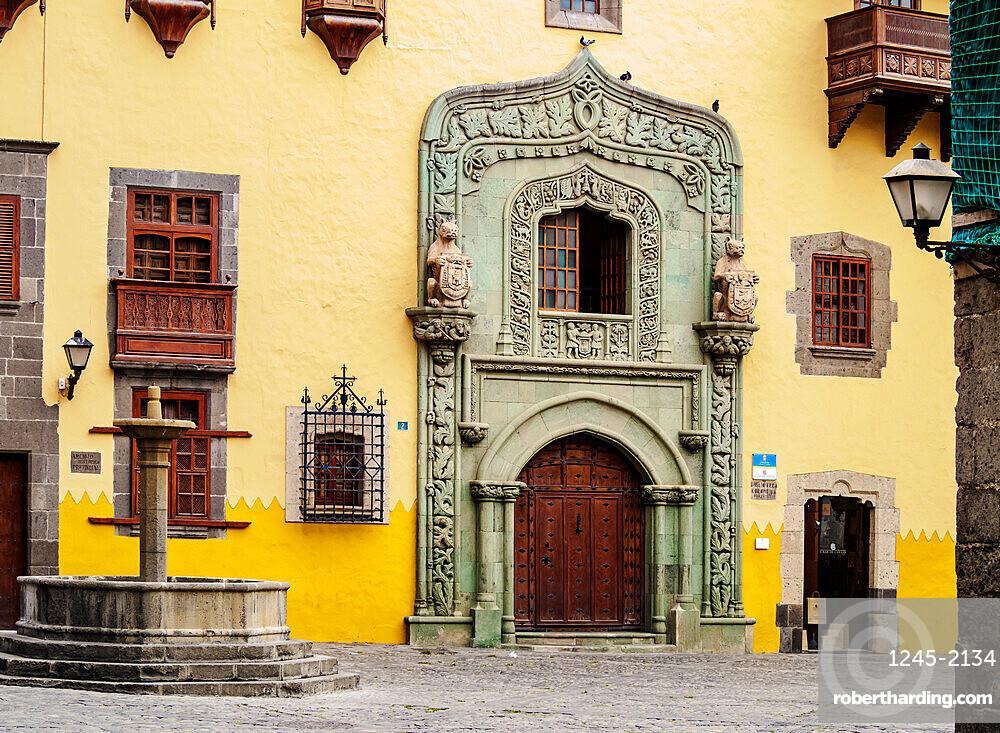 Casa de Colon, Columbus House, Plaza del Pilar Nuevo, Las Palmas de Gran Canaria, Gran Canaria, Canary Islands, Spain