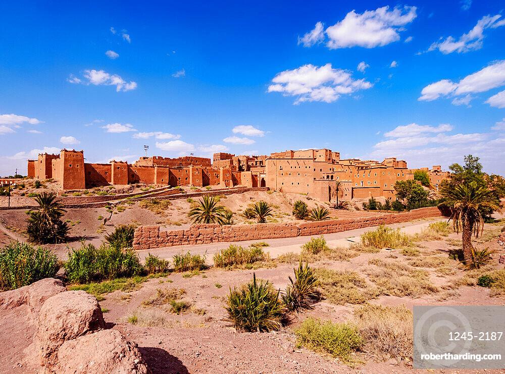Kasbah Taourirt, Ouarzazate, Draa-Tafilalet Region, Morocco, North Africa, Africa