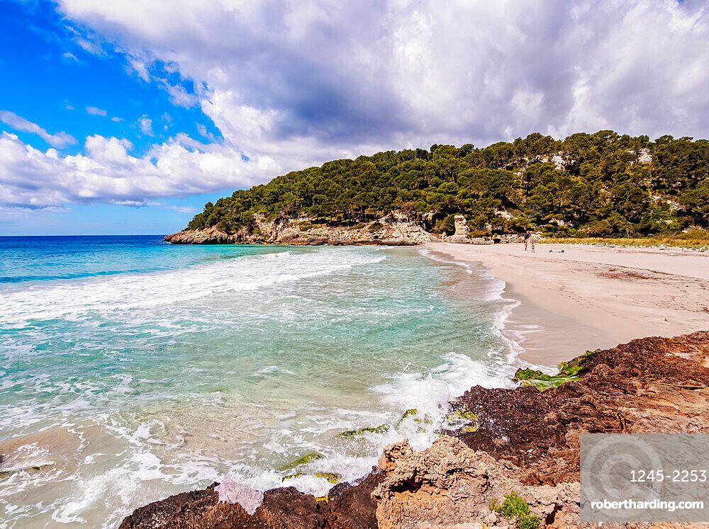 Cala Trebaluger, Trebaluger Bay, Menorca (Minorca), Balearic Islands, Spain, Mediterranean, Europe