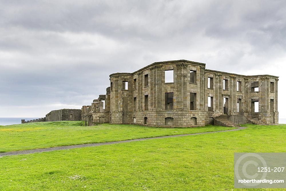 Downhill House, Castlerock, County Londonderry, Ulster region, Northern Ireland, United Kingdom, Europe