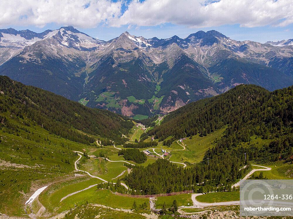 Lake Chiusetta, Aurina Valley, Dolomites, South Tyrol, Italy, Europe