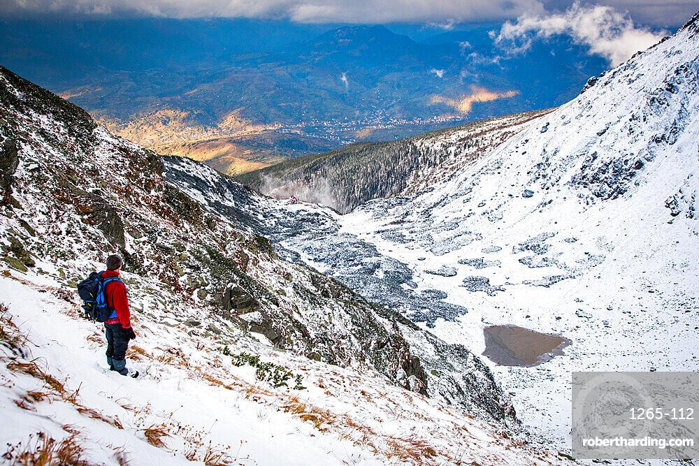 Rodnei Mountains in early winter, Carpathians, Romania, Europe