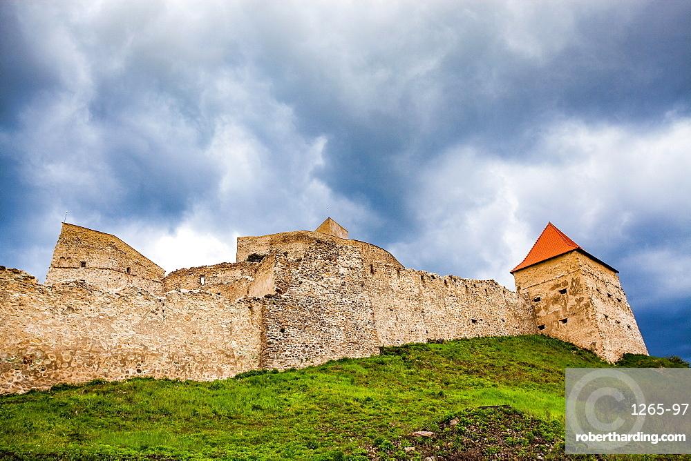 Rupea Citadel in Brasov County, Romania, Europe