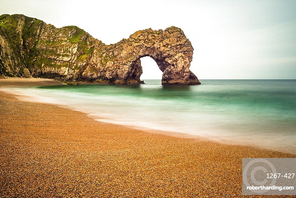 Durdle Door on England's Jurassic Coast, UNESCO World Heritage Site, Dorset, England, United Kingdom, Europe