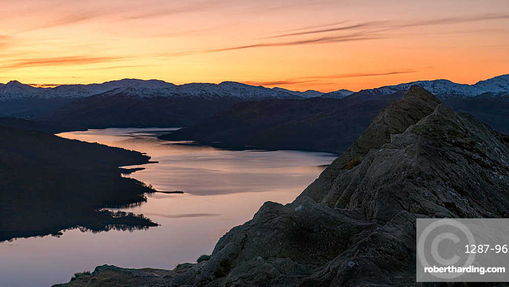 Ben A'an is one of the most popular of Scotland's smaller hills with stunning views over Loch Katrine