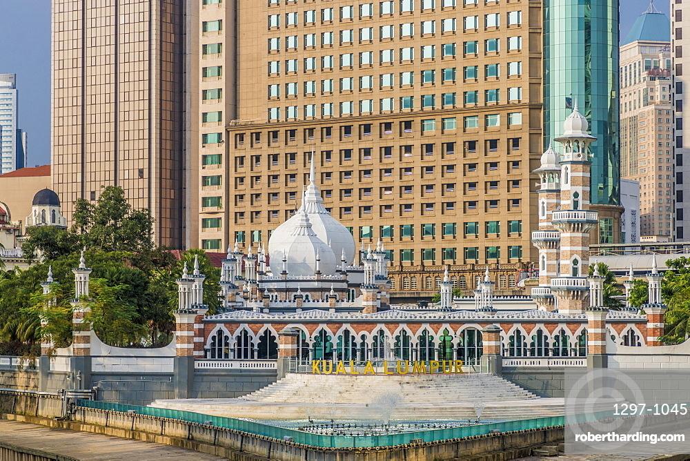 Sultan Abdul Samad Jamek Mosque, Kuala Lumpur, Malaysia, Southeast Asia, Asia