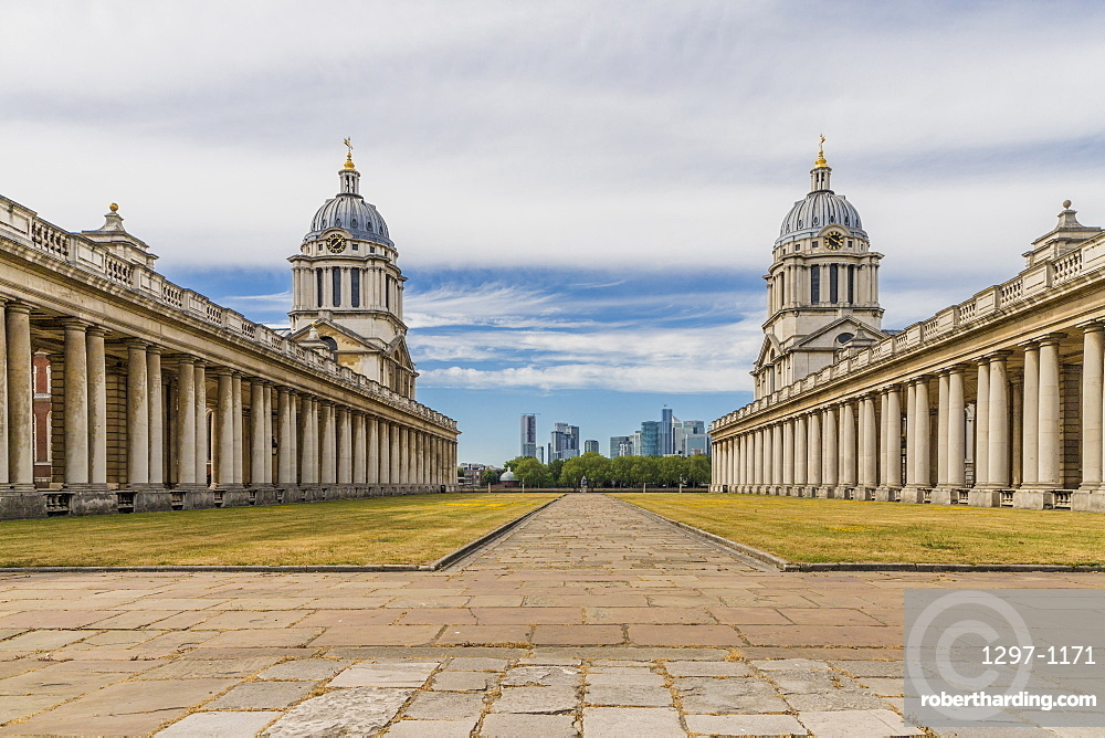 Old Royal Naval College, Greenwich, UNESCO, Site, London, England, United Kingdom, Europe