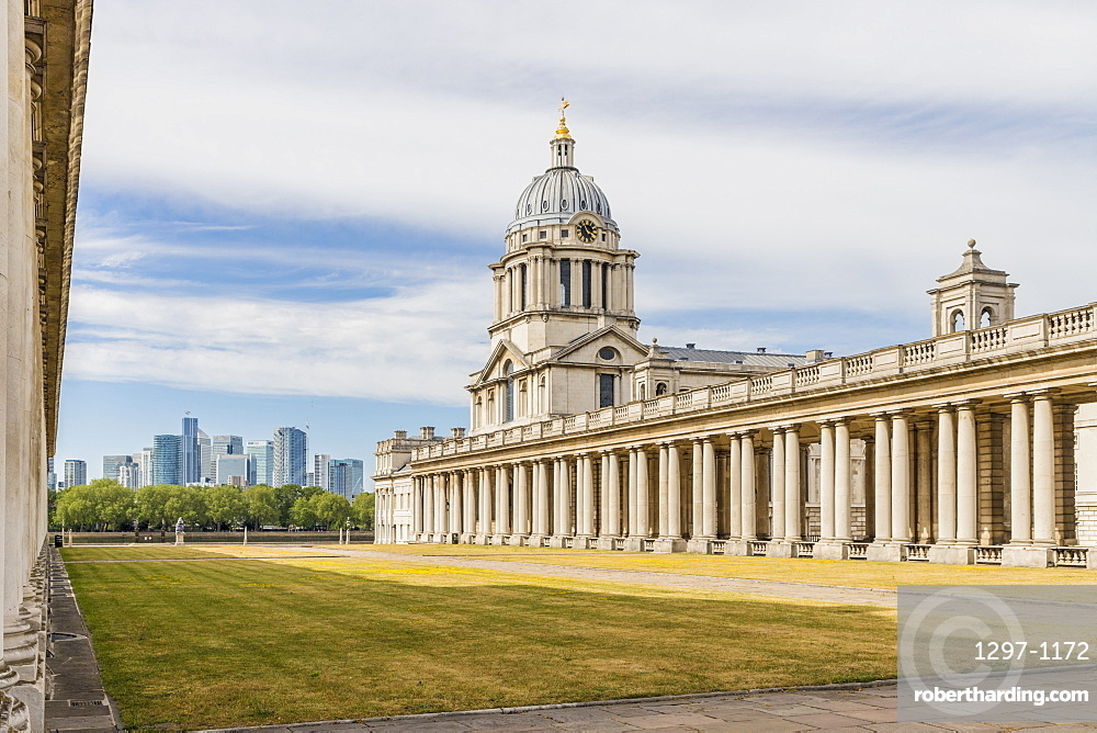 Old Royal Naval College, Greenwich, UNESCO World Heritage Site, London, England, United Kingdom, Europe