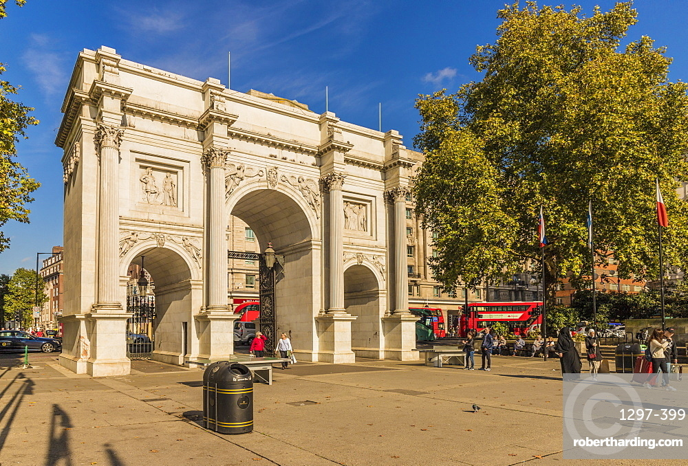 Marble Arch, London, England, United Kingdom, Europe
