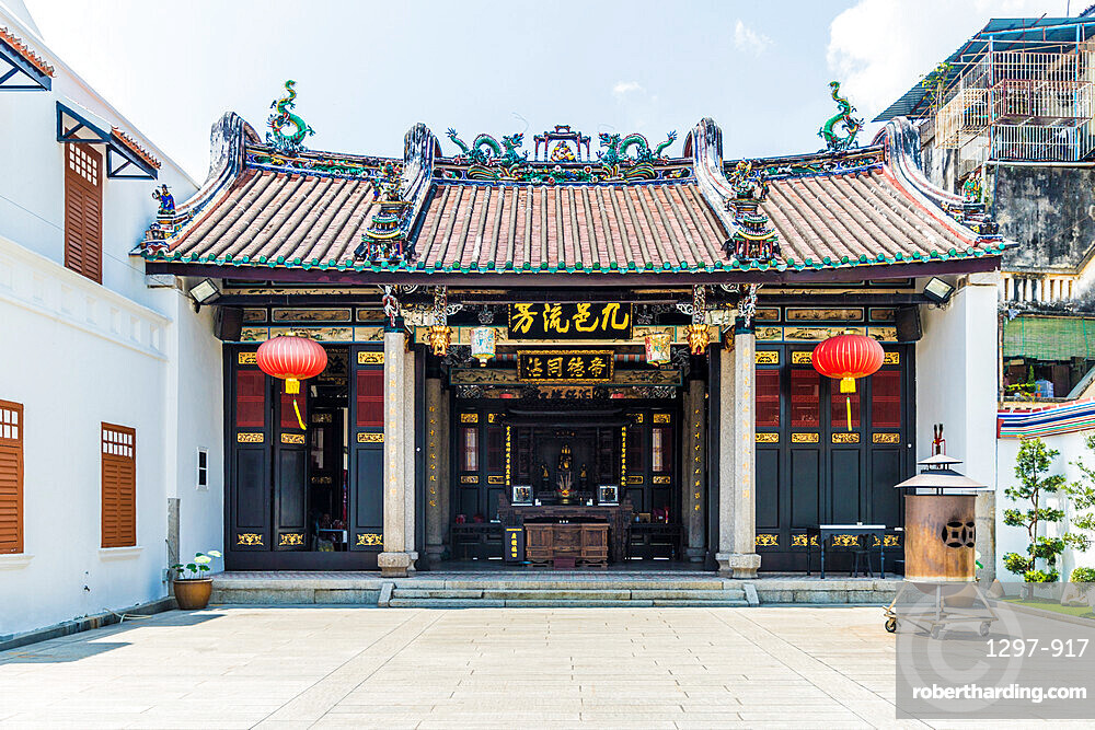 Han Jiang Ancestral Temple in George Town, a UNESCO World Heritage site, Penang Island, Malaysia, Southeast Asia, Asia.