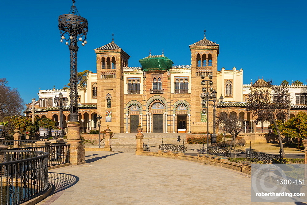 Museum of Popular Arts and Traditions (Museo de Artes y Costumbres Populares de Sevilla), Seville, Andalusia, Spain, Europe